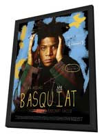 Jean-Michel Basquiat: The Radiant Child - 27 x 40 Movie Poster - French Style A - in Deluxe Wood Frame