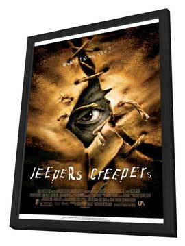 Jeepers Creepers - 11 x 17 Movie Poster - Style A - in Deluxe Wood Frame
