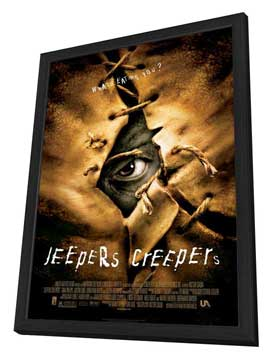 Jeepers Creepers - 27 x 40 Movie Poster - Style A - in Deluxe Wood Frame
