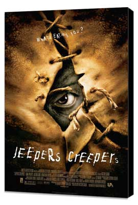 Jeepers Creepers - 27 x 40 Movie Poster - Style A - Museum Wrapped Canvas