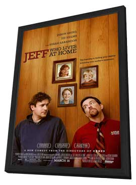 Jeff Who Lives at Home - 27 x 40 Movie Poster - Style A - in Deluxe Wood Frame