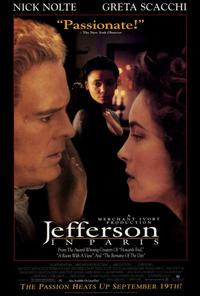 Jefferson in Paris - 27 x 40 Movie Poster - Style A