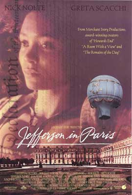 Jefferson in Paris - 27 x 40 Movie Poster - Style B