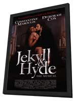 Jekyll and Hyde (Broadway) - 14 x 22 Poster - Style B - in Deluxe Wood Frame