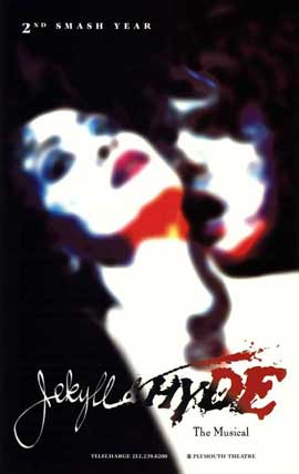 Jekyll and Hyde (Broadway) - 27 x 40 Poster - Style A
