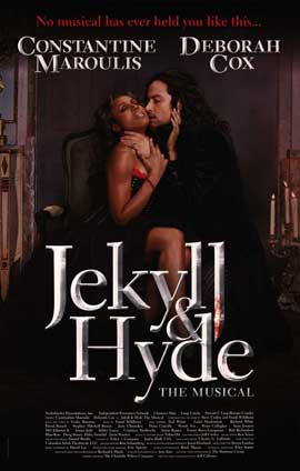 Jekyll and Hyde (Broadway) - 14 x 22 Poster - Style B