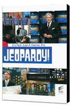 Jeopardy! (TV) - 11 x 17 TV Poster - Style A - Museum Wrapped Canvas