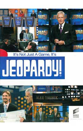 Jeopardy! (TV) - 11 x 17 TV Poster - Style A
