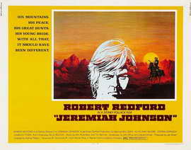 Jeremiah Johnson - 11 x 17 Movie Poster - Style G