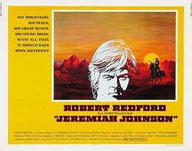 Jeremiah Johnson - 27 x 40 Movie Poster - Style E