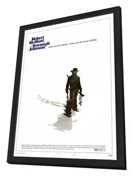 Jeremiah Johnson - 11 x 17 Movie Poster - Style B - in Deluxe Wood Frame