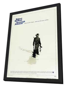 Jeremiah Johnson - 27 x 40 Movie Poster - Style B - in Deluxe Wood Frame