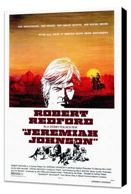 Jeremiah Johnson - 27 x 40 Movie Poster - Style A - Museum Wrapped Canvas