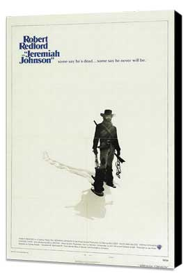 Jeremiah Johnson - 27 x 40 Movie Poster - Style B - Museum Wrapped Canvas