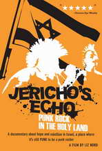 Jericho's Echo: Punk Rock in the Holy Land - 27 x 40 Movie Poster - Style A