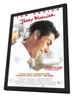 Jerry Maguire - 27 x 40 Movie Poster - Style B - in Deluxe Wood Frame