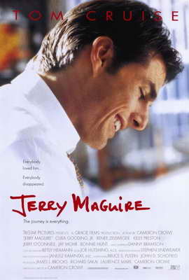 Jerry Maguire - 27 x 40 Movie Poster - Style A