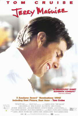 Jerry Maguire - 27 x 40 Movie Poster - Style B