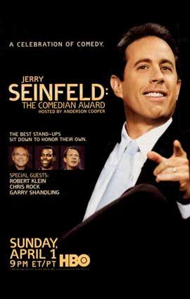 Jerry Seinfeld: The Comedian Award - 11 x 17 TV Poster - Style A