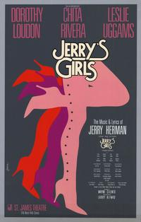 Jerry's Girls (Broadway) - 11 x 17 Poster - Style A