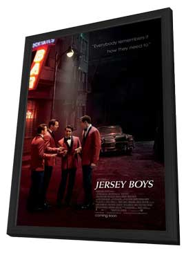 Jersey Boys - 27 x 40 Movie Poster - Style A - in Deluxe Wood Frame
