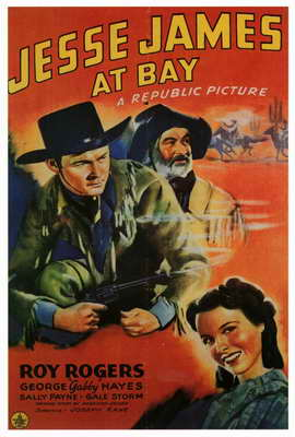 Jesse James at Bay - 27 x 40 Movie Poster - Style A