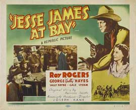 Jesse James at Bay - 22 x 28 Movie Poster - Half Sheet Style A
