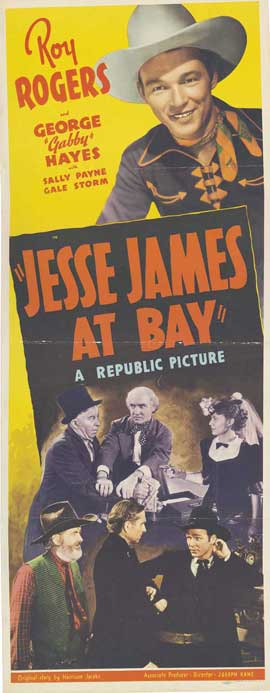 Jesse James at Bay - 14 x 36 Movie Poster - Insert Style A