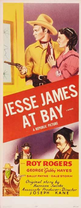 Jesse James at Bay - 14 x 36 Movie Poster - Insert Style B