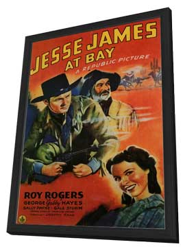 Jesse James at Bay - 11 x 17 Movie Poster - Style A - in Deluxe Wood Frame