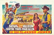 Jesse James' Kid - 27 x 40 Movie Poster - Belgian Style A