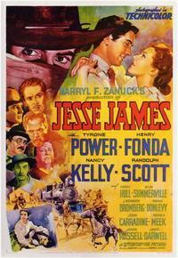 Jesse James - 11 x 17 Movie Poster - Style B