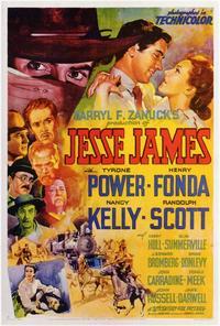 Jesse James - 27 x 40 Movie Poster - Style B