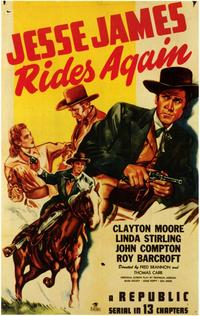 Jesse James Rides Again - 11 x 17 Movie Poster - Style A