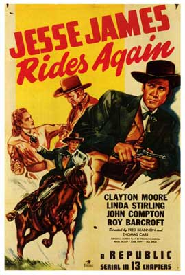 Jesse James Rides Again - 27 x 40 Movie Poster - Style A