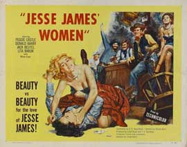 Jesse James' Women - 22 x 28 Movie Poster - Half Sheet Style A