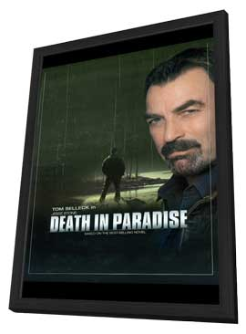 Jesse Stone: Death in Paradise - 11 x 17 Movie Poster - Style A - in Deluxe Wood Frame