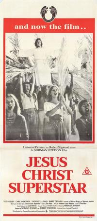 Jesus Christ Superstar - 11 x 17 Movie Poster - Australian Style A