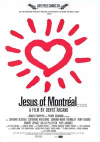 Jesus of Montreal - 43 x 62 Movie Poster - Bus Shelter Style A