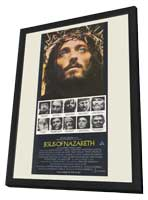 Jesus of Nazareth - 11 x 17 Movie Poster - Australian Style A - in Deluxe Wood Frame