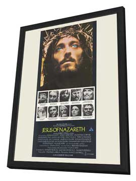 Jesus of Nazareth - 27 x 40 Movie Poster - Australian Style A - in Deluxe Wood Frame
