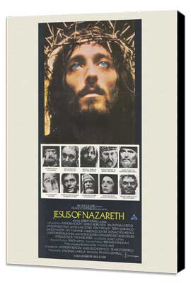 Jesus of Nazareth - 27 x 40 Movie Poster - Australian Style A - Museum Wrapped Canvas