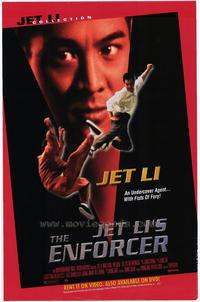 Jet Lis The Enforcer - 43 x 62 Movie Poster - Bus Shelter Style A