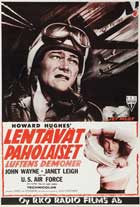 Jet Pilot - 11 x 17 Movie Poster - French Style A
