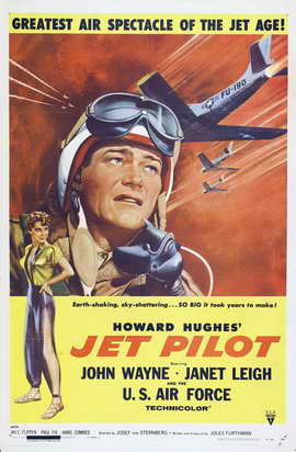 Jet Pilot - 11 x 17 Movie Poster - Style A