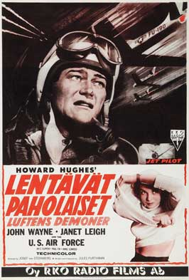 Jet Pilot - 27 x 40 Movie Poster - French Style A