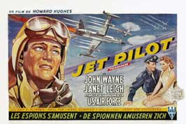 Jet Pilot - 11 x 17 Movie Poster - Belgian Style A