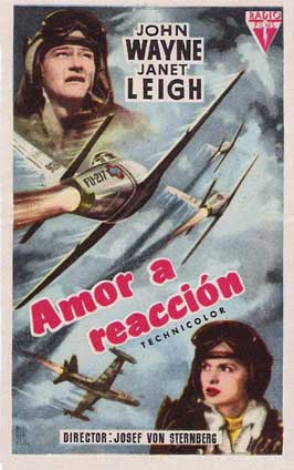 Jet Pilot - 11 x 17 Movie Poster - Spanish Style A