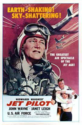 Jet Pilot - 11 x 17 Movie Poster - Style B