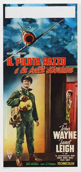 Jet Pilot - 13 x 28 Movie Poster - Italian Style A